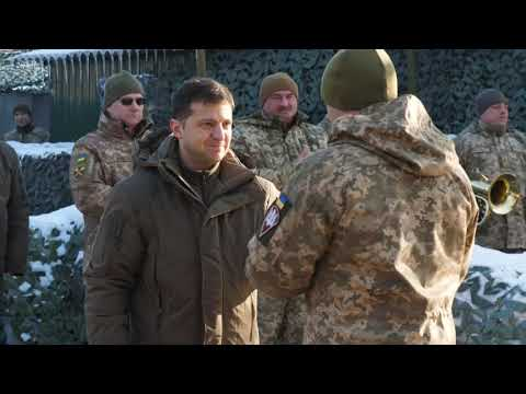 Ukrainian President Vows to Stand Firm In Talks With Russia