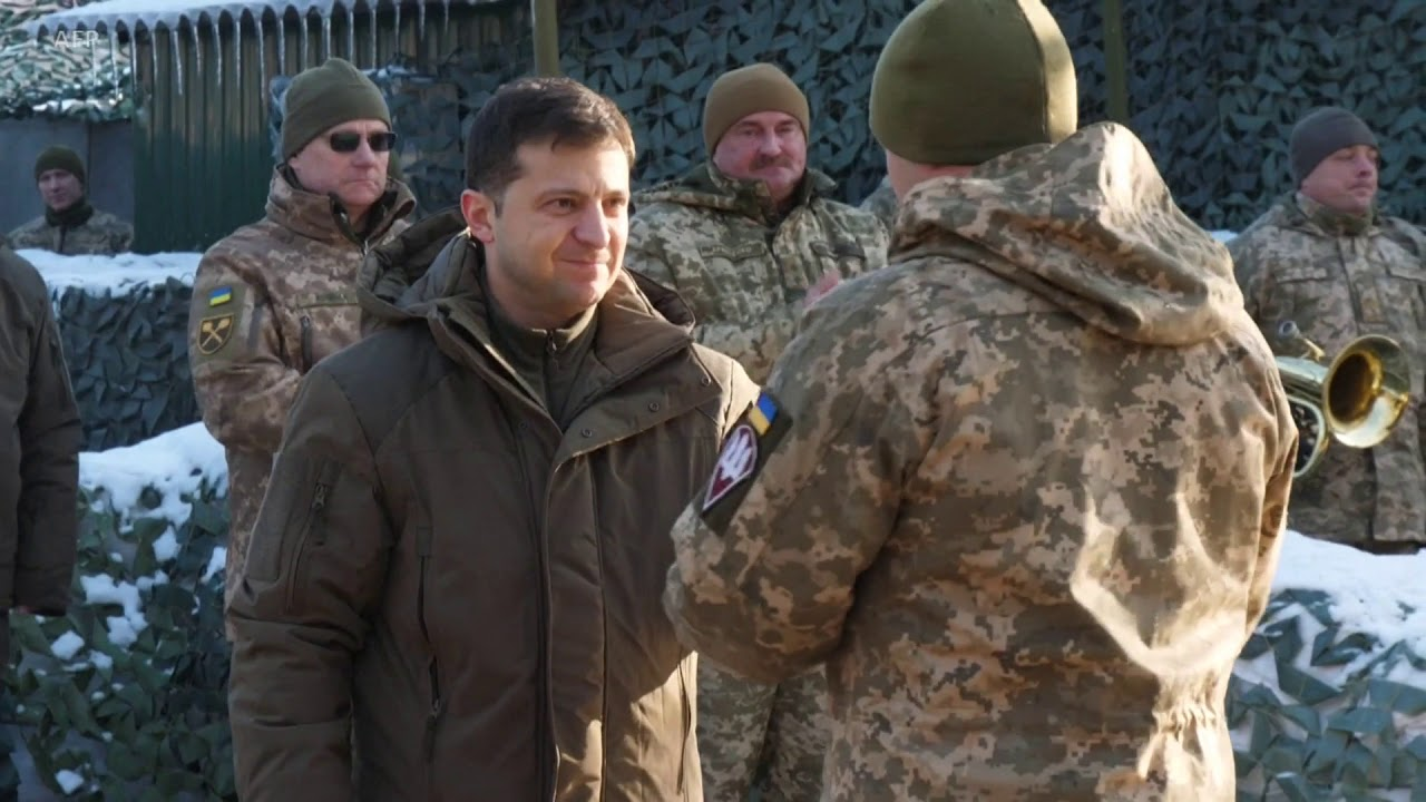 Download Ukrainian President Vows to Stand Firm In Talks With Russia