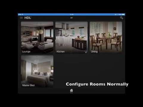 HDL Control by DemoPad - AV Control
