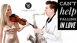 Can't Help Falling In Love - The Most Beautiful Version!! ❤️ Sax And Violin (2019)
