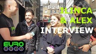 romania eurovision 2017 ilinca alex interview londoneurovisionparty eurovoxx