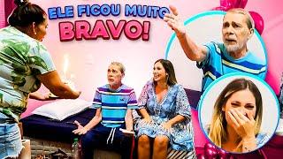 MENTIMOS SOBRE O ANIVERSÁRIO DO MEU PAI E ELE FICOU BRAVO!!