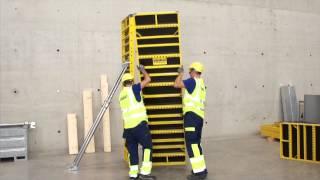 видео опалубка колонн