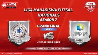 Grandfinal Men's STIE BP vs Perbanas LIMA Futsal Nationals Season 7
