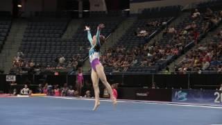 Lauren Letzsch - Floor Exercise - 2016 Secret U.S. Classic - Junior