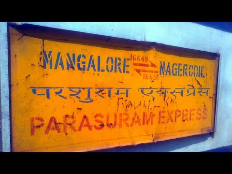 INDIAN RAILWAYS Train Announcements | Parashuram Express