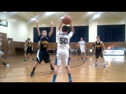 CYO Basketball OLMM vs Our Lady Of Hope 2/3/16