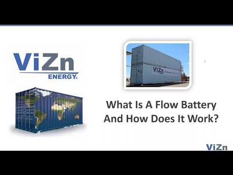 How Does a Flow Battery Work