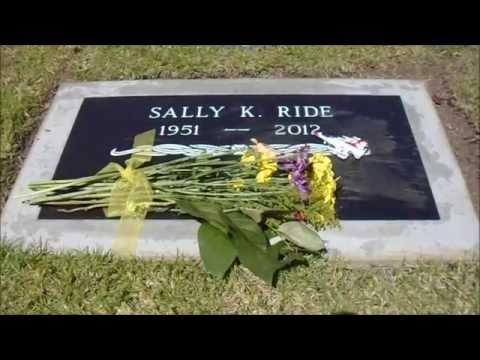 Grave of Sally Ride