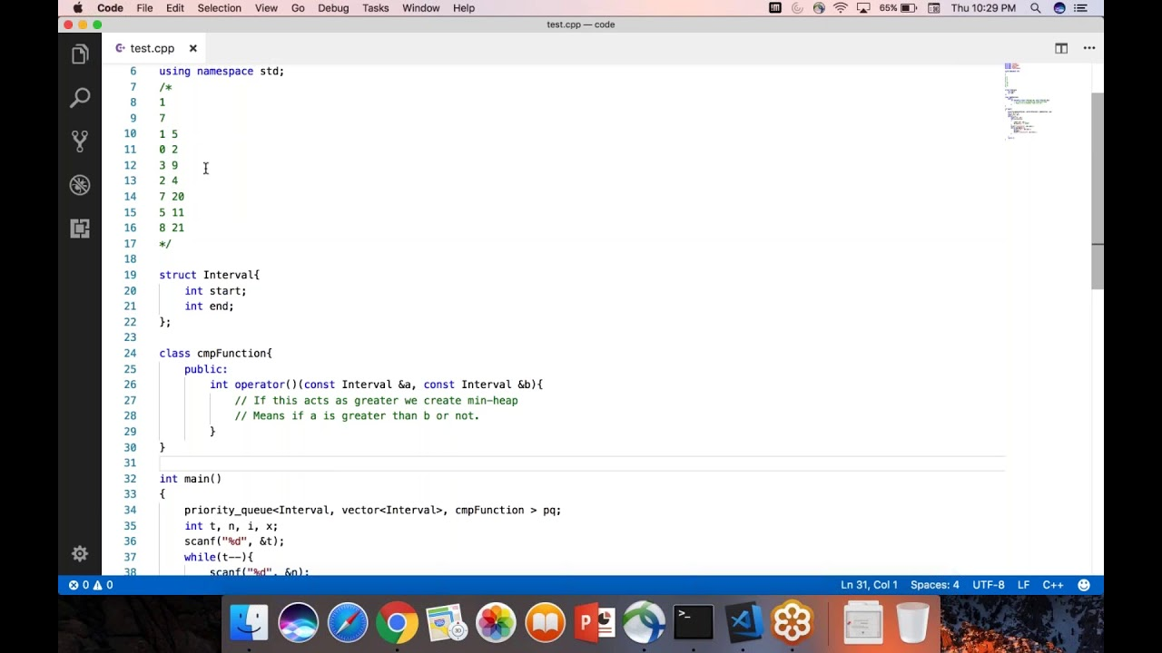 C++ Priority Queue for User Defined Data Type