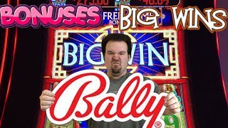 BALLY - BONUSES, FEATURES AND BIG WINS ON AWESOME SLOT MACHINES