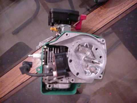 2stroke Leaf Blower Motor Youtube