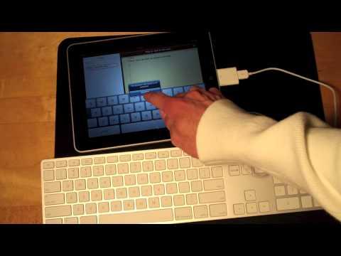 Hook up apple keyboard to ipad