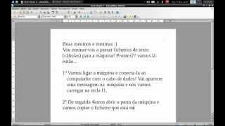 Como copiar ficheiros para a máquina Cásio fx-CG 20