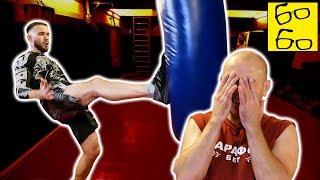 """Для чего ударнику """"передняя"""" нога? Техника и тактика боя — урок тренера по ММА Дмитрия Малина"""