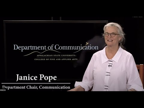 Communication at Appalachian State University