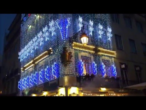 best Christmas video of Lisbon,Portugal