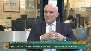 José Luis Espert detalla su proyecto para ser presidente - LN+