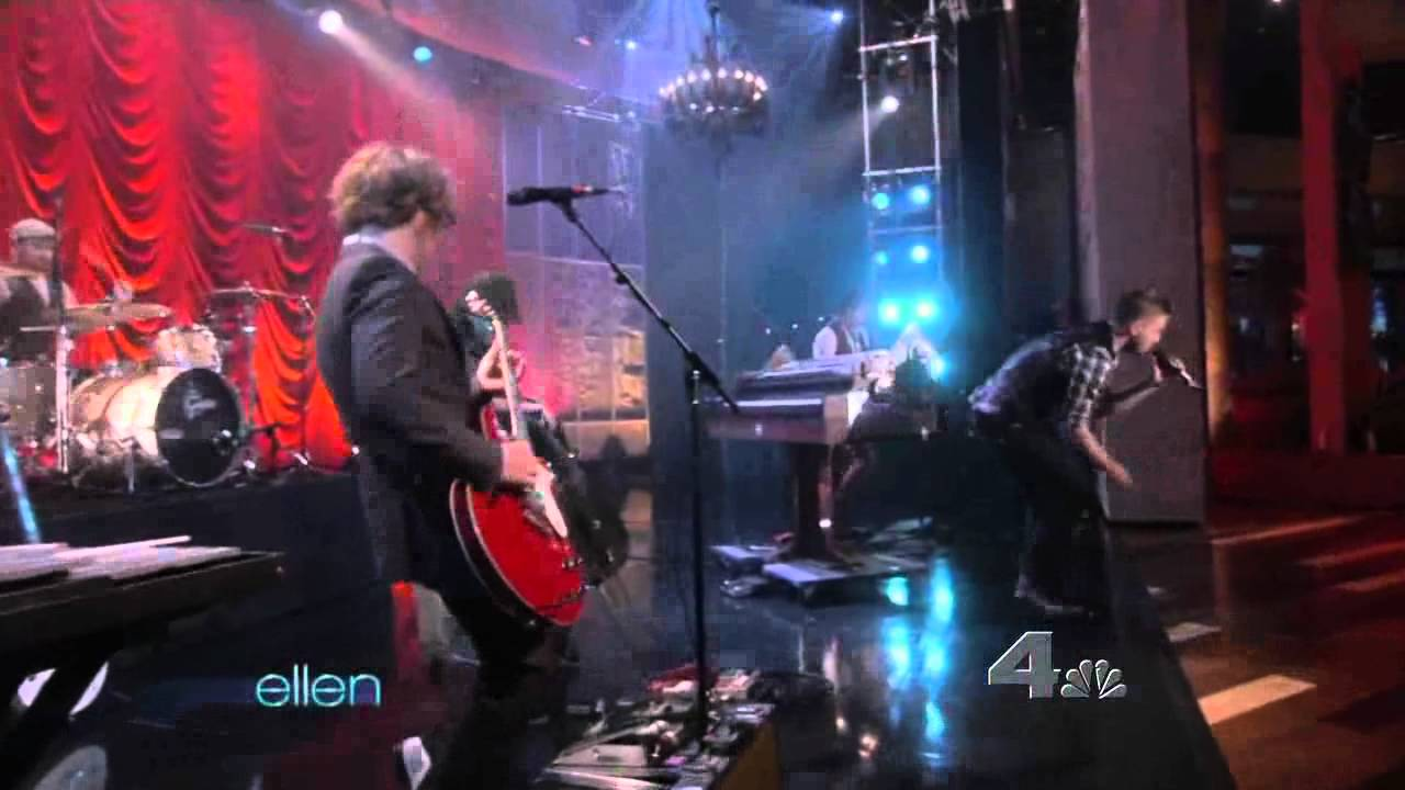 Onerepublic all the right moves live at the ellen degeneres show youtube - Ellen show live ...