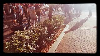 13.10.2018 Amsterdam hooligans fight,Holland-Germany