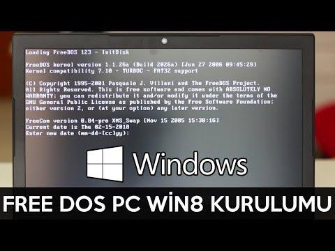 Free Dos Kurulum İşletim Sistemi   Windows 8.1 Kurulum