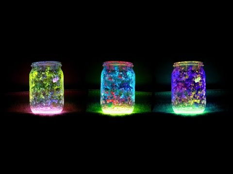 DIY Fairy Glow Jars - Homemade | Easy Project Tutorial