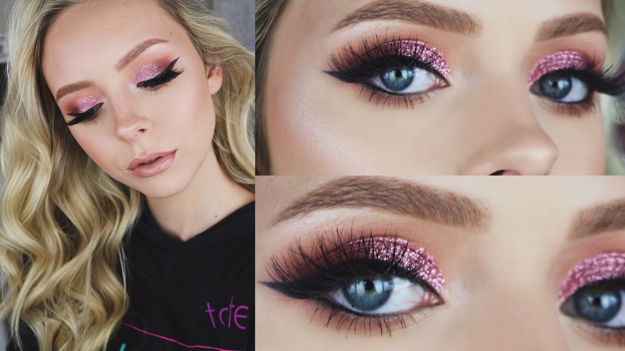 Rose Gold Valentine S Day Makeup Look Youtube