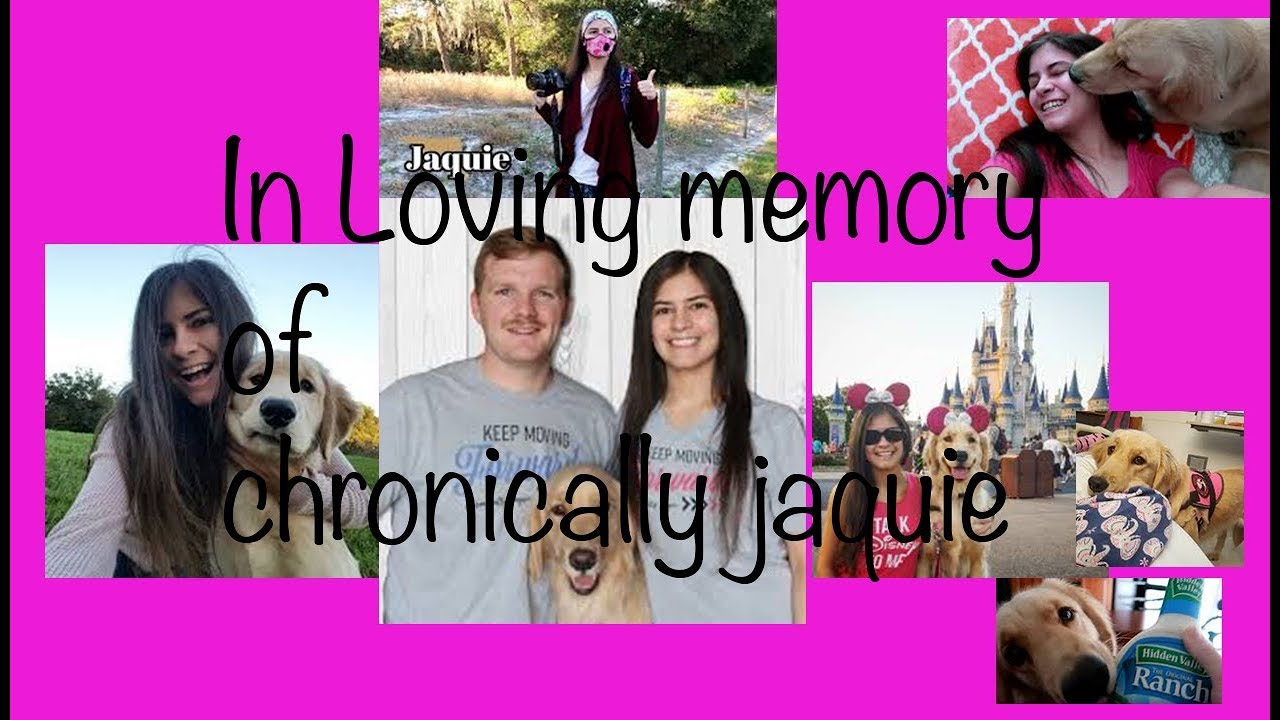 In Memory of chronically jaquie - A letter to her family
