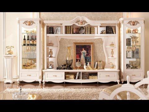 классические стенки для гостиной
