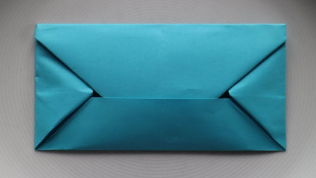 kuvert selber basteln