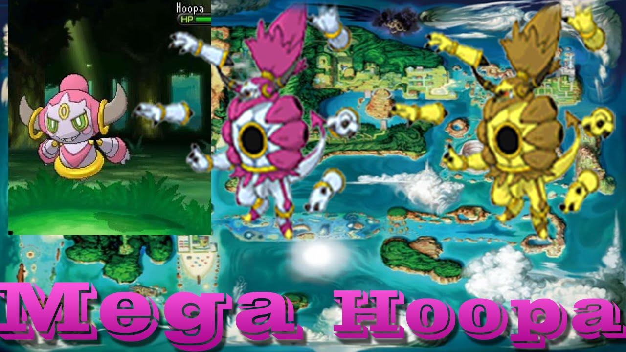 Pokemon ORAS Update: Hoopa Form Change + Shiny Megas - YouTube