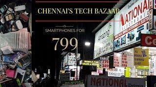 Ritchie Street Chennai - Cheapest electronic bazaar - Yeh Chennai ka Chor bazaar hai!!........YTB