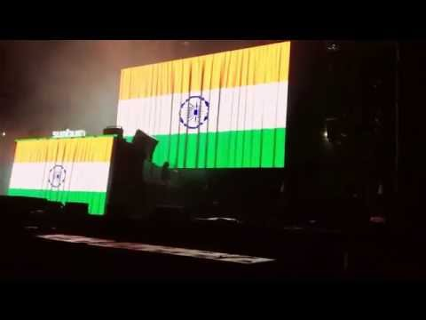 Marshmello enters Indian style - cook cook cook - Hyderabad sunburn 2016