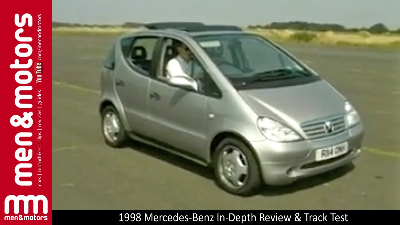 1998 mercedes benz a class in depth review track test youtube. Black Bedroom Furniture Sets. Home Design Ideas