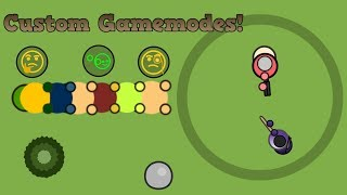 Surviv.io 1v1 Arena Line Custom Gamemode!! Crazy Custom Gamemodes And Twitch Server Fun!