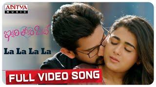 La La La La full song Iddari Lokam Okate Songs Raj Tharun Shalini Mickey J Meyer