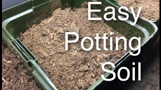Building my Potting Mix Easy Cheap and Organic for Great Indoor Grow Ops