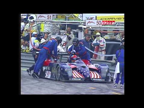 2002 Mid-Ohio Race Broadcast - ALMS - Tequila Patron - Racing - Sports Cars - USCR