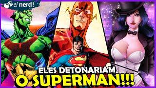 5 HERÓIS DA DC MAIS PODEROSOS QUE O SUPERMAN