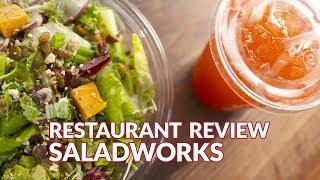 Restaurant Review - Saladworks | Atlanta Eats