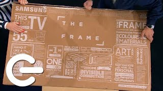 Unboxing Samsung The Frame 4K TV - The Gadget Show