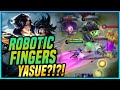 ROBOTIC FINGERS?! 1 SEC KILL? FAST AND WISE! GUSION HAIRSTYLIST -YASUE