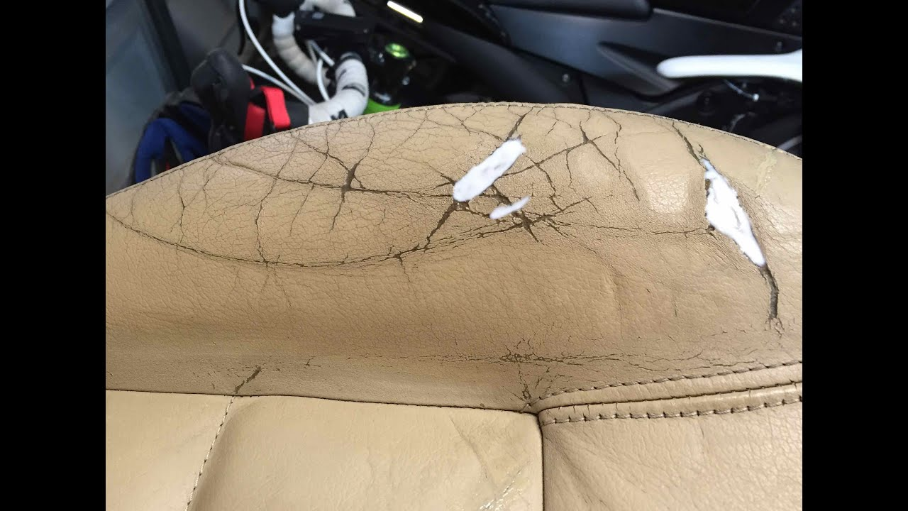 Diy Vw Pat Leather Car Seat Repair