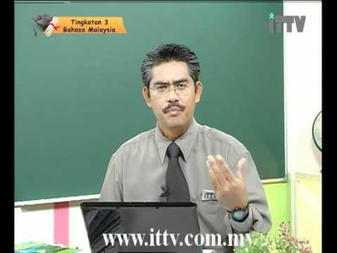 iTTV PMR PT3 Form 3 Bahasa Malaysia Topik 02 Karangan - Pendapat -Tuition/Lesson/Exam/Tips