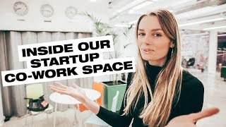 INSIDE OUR STARTUP CO-WORK SPACE ///004