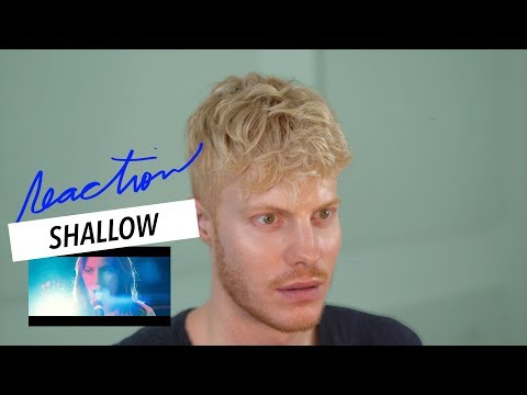 SHALLOW STAR IS BORN LADY GAGA BRADLEY COOPER REACTION