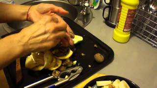 Preparing A Very Tasty Home Made Fruit Salad Tutorial