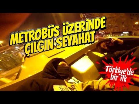 Metrobusün Üzerinde Çılgın Seyahat (Türkiye'de İlk)