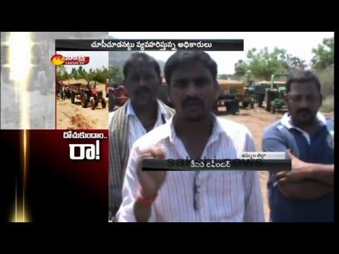 Sand Mafia in Khammam District    Sakshi Special Report