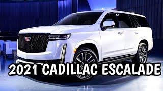 2021 Cadillac ESCALADE   Walkthrough